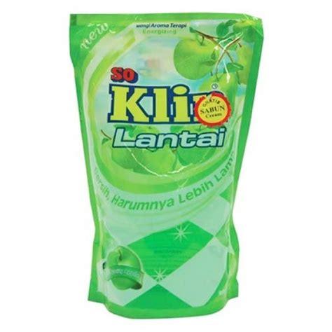 Soklin Lantai 800 Ml Bouquet soklin floor cleaner pouch apple 800ml