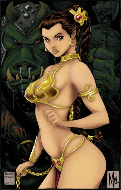 Slave Leia By Bigmdesign On Deviantart