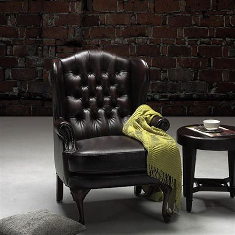 carlton chesterfield library reading wing back chair moran furniture classic chair every library or den needs