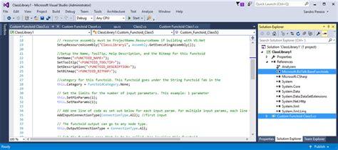 visual studio templates custom biztalk functoid item template for visual studio