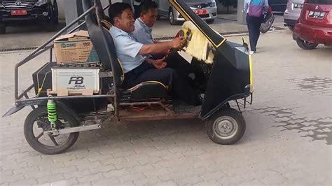 Mesin Cuci Polytron Zerro Matic modifikasi mobil pakai mesin motor honda beat