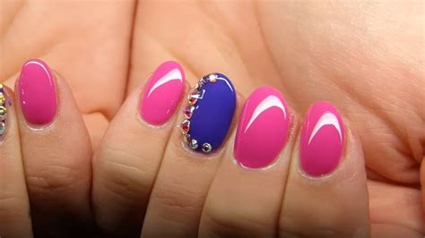 Imagenes De Uñas Gelish Decoradas | u 241 as decoradas con gelish 161 30 lindos dise 209 os