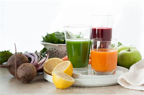 Gourmande In The Kitchen by Your Veggies A Trio Of Juice Recipes