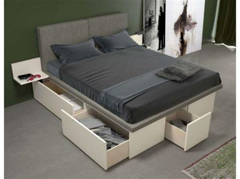 lade da comodino moderne cassettoni per il letto
