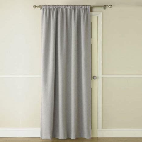 Blackout   Thermal   Grey   Door Curtain   Tonys Textiles