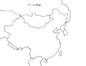 Ancient China Blank Map blank map of ancient china clipart best