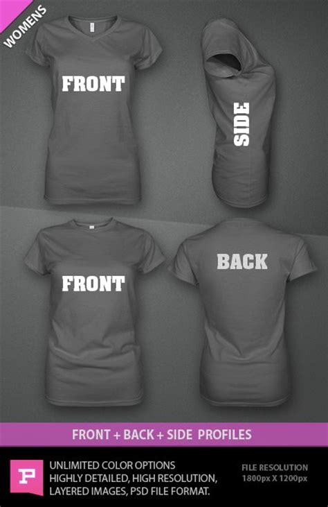 ghosted women s t shirt design template psd with bonus