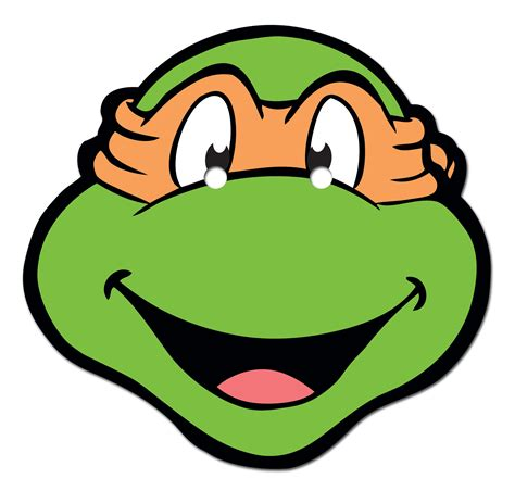 ninja turtle face template viewing gallery clipart