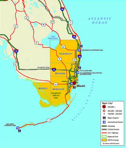 map of florida ta area u hidta overview south florida hidta market