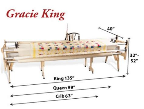 Gracie Quilting Frame by Gracie King Janome 1600p Qc Starter Quilting Frame System