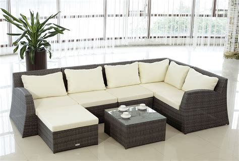 architectural design modern rattan outdoor furniture