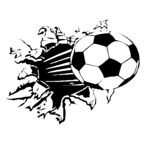 soccer decals for bedroom toogoo r soccer ball football vinyl wall sticker decal kids room decor sport boy art