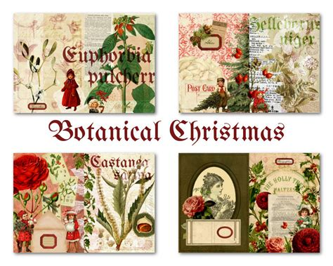printable christmas journal printable christmas journal kit for junk journal or mini album