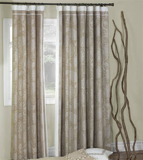 eastern accents drapes luxury bedding by eastern accents aileen curtain panel right