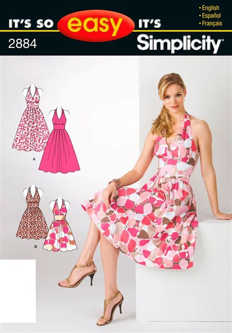 dress pattern ease it s so easy sewing patterns simplicity patterns