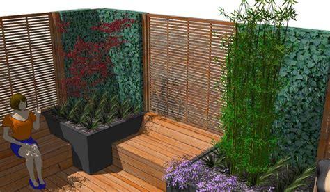 Moderner Sichtschutz Im Garten 2296 by Sichtschutz Terrasse Modern