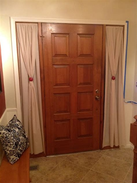 diy sidelight curtains 1000 ideas about sidelight curtains on pinterest front