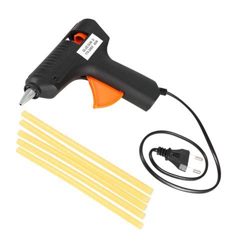 110 240v 40w melt glue gun paintless dent repair tool w 5pcs glue sticks sales tomtop