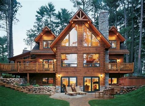 Beautiful Log Cabin Homes by Beautiful Log Cabin Home Home