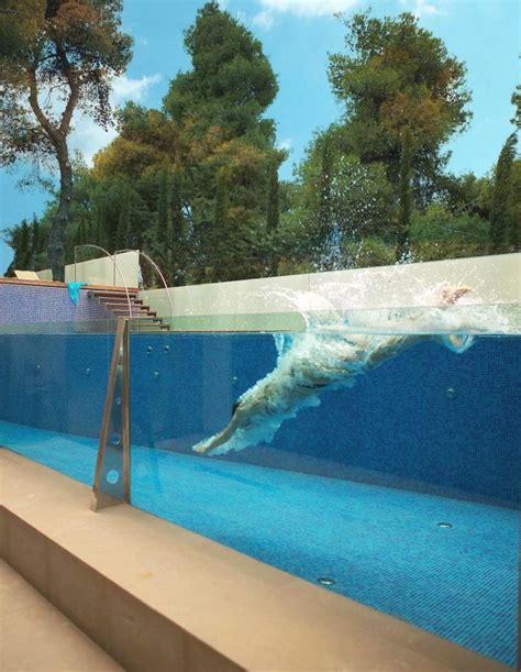 Glas Pool by Modern Glass Swimming Pool Innovative Swimming Pool Design