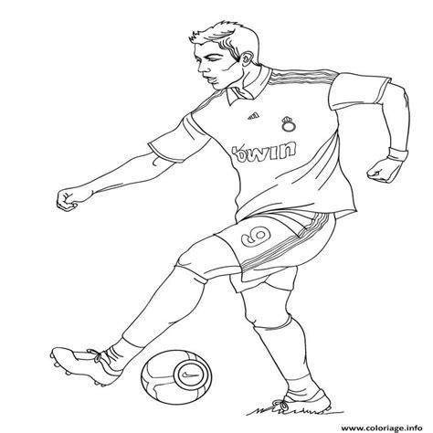 dessin de foot de ronaldo dessin a imprimer foot