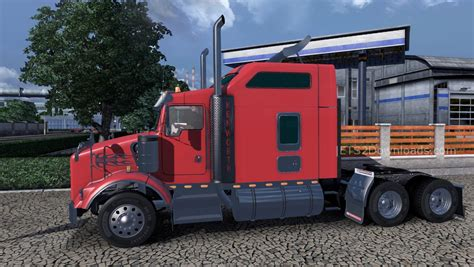 new t800 kenworth for kenworth t800 v2 1 final review mods world