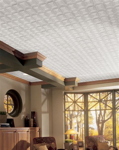armstrong drop ceiling installation metallaire small panels metallaire collection tin metal
