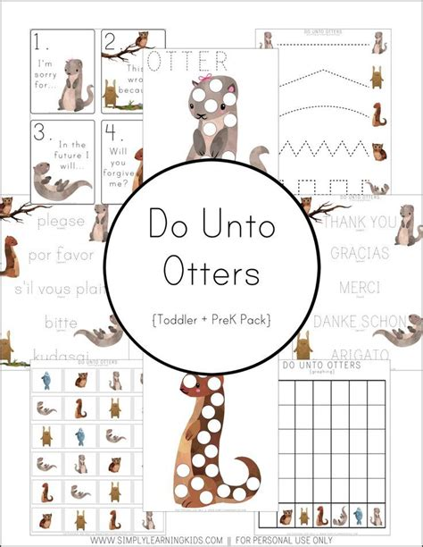 do unto otters a 326 best montessori free printables downloads images on free printables learning