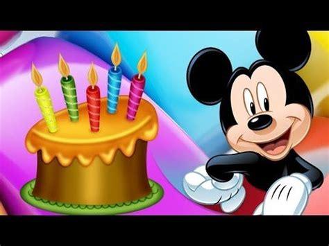 imagenes de happy birthday para ninos cancion de feliz cumplea 209 os mickey mouse feliz cumplea 241 os