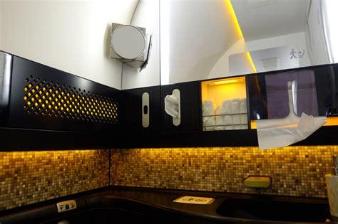 etihad first class bathroom etihad first class 787 9 review travelsort