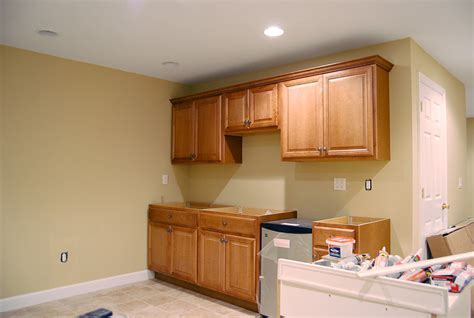 Basement Kitchen Cabinets by Basement Apartment Before And After Happy House Colors