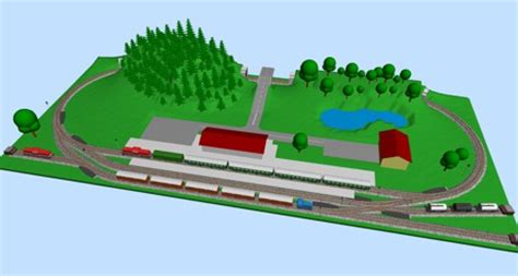 train layout software reviews scarm simple computer aided railway modeller model