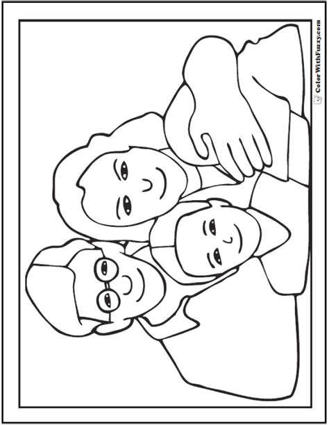 family day coloring page 45 mothers day coloring pages print and customize for mom