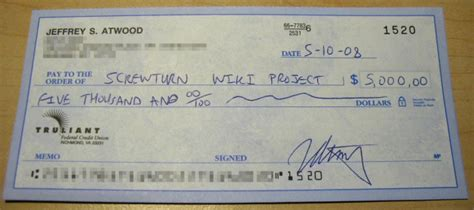 check open how do you write a check for 5000 howsto co