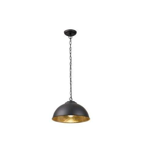 Endon Ceiling Lights Endon Colman Bl Ceiling Pendant Colman Black Modern Pendant 1 Light