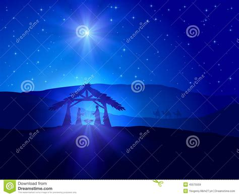 christmas with with christian theme theme with stock vector illustration of infant 45575559