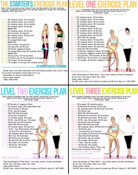 exercise plan for beginners at home best 25 beginner workout plans ideas on pinterest daily