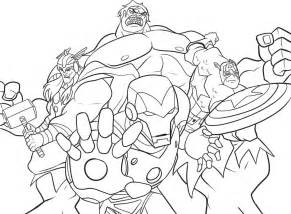 marvel coloring book free coloring pages