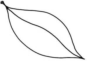 jungle leaf templates to cut out leaf