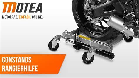 Motorrad Rangierhilfe Youtube by Constands Motorrad Rangierhilfe Motomover Heavy Duty Youtube