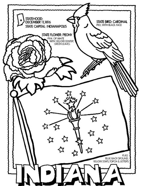 indiana history coloring pages 50 best cc cycle 3 week 5 images on pinterest state