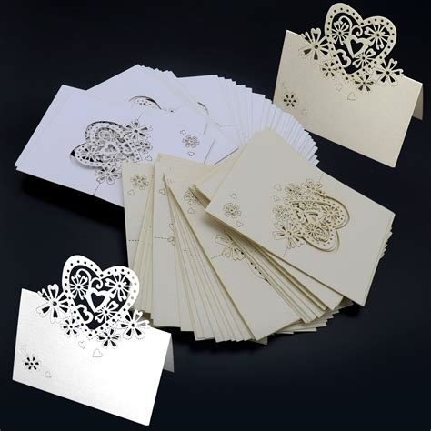 ebay co uk wedding place cards 50x table place name settings meal cards for