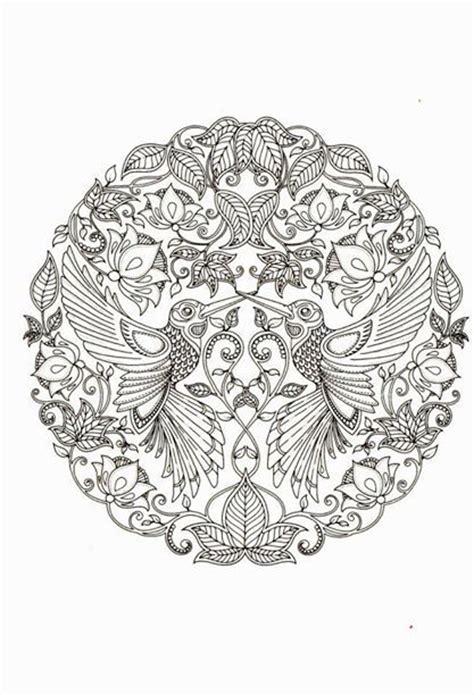 mandala coloring book secret garden by johanna basford from secret garden coloring pages by