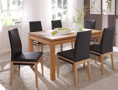 esszimmer mit stuhl schienen stuhl santorin kunstleder polsterstuhl varianten esszimmer