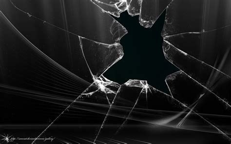 wallpaper black glass broken glass wallpapers