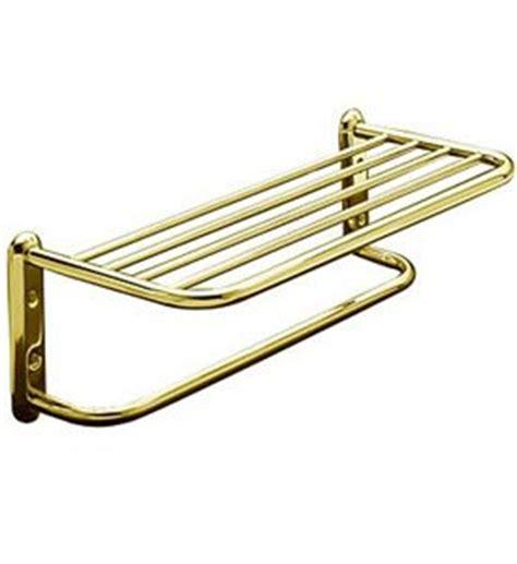 Hotel Towel Rack Shelf by Hotel Style Towel Shelf And Rack Brass