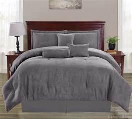 micro suede comforter set gray micro suede comforter set sheet set king size 10