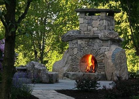 Circular Outdoor Fireplace by The Hobbit Fireplace A Place To Settle In With J
