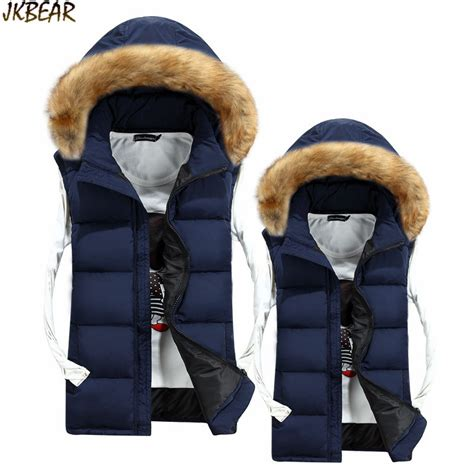 Lust List Shearling Puffer Vest by Sale Faux Fur Hooded Puffer Vests For Thick Warm