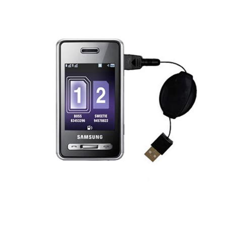 Travel Charger Samsung Sgh X160 Jadul Vintage Chars Li Ion Brand New C coiled power sync usb cable suitable for the samsung sgh d980 duos with both data and charge
